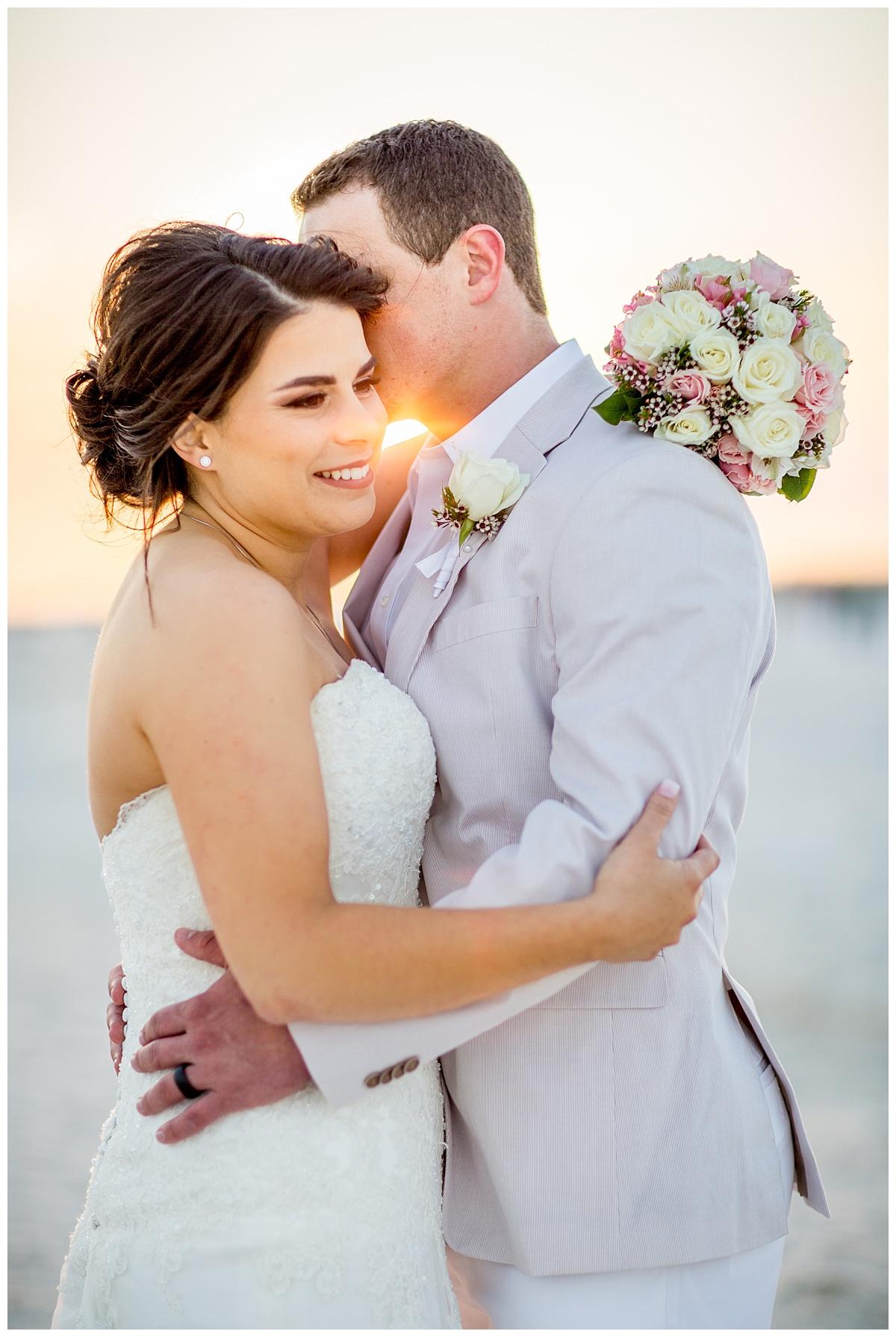 Sunset Wedding in Gulf Shores