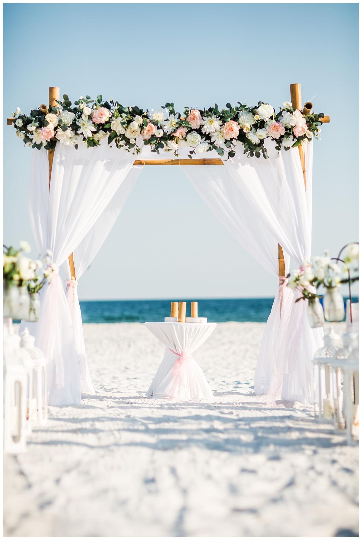 Romantic Wedding Set Up
