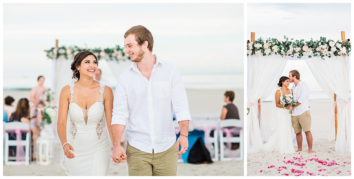 Beach Wedding in Alabama