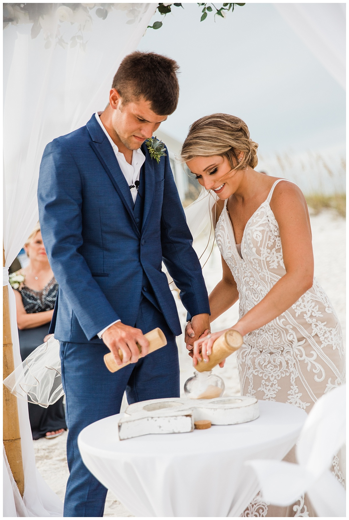 Sand Ceremony for Beach Weddings