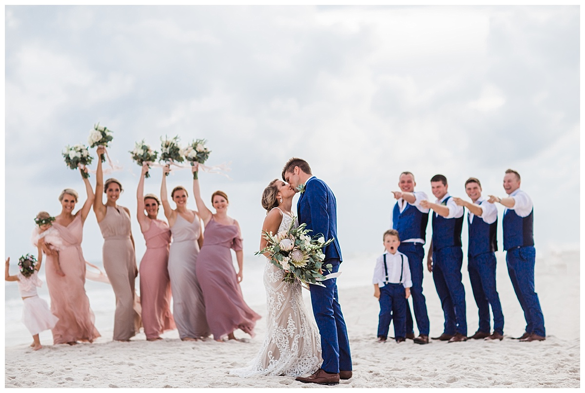 Wedding Party in Orange Beach