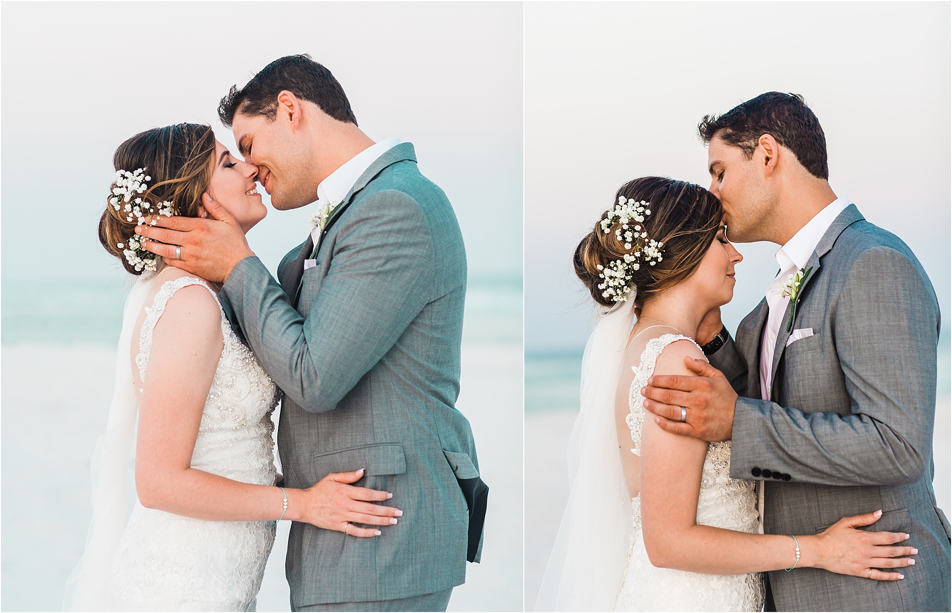 Beach Wedding Pictures Pensacola Beach