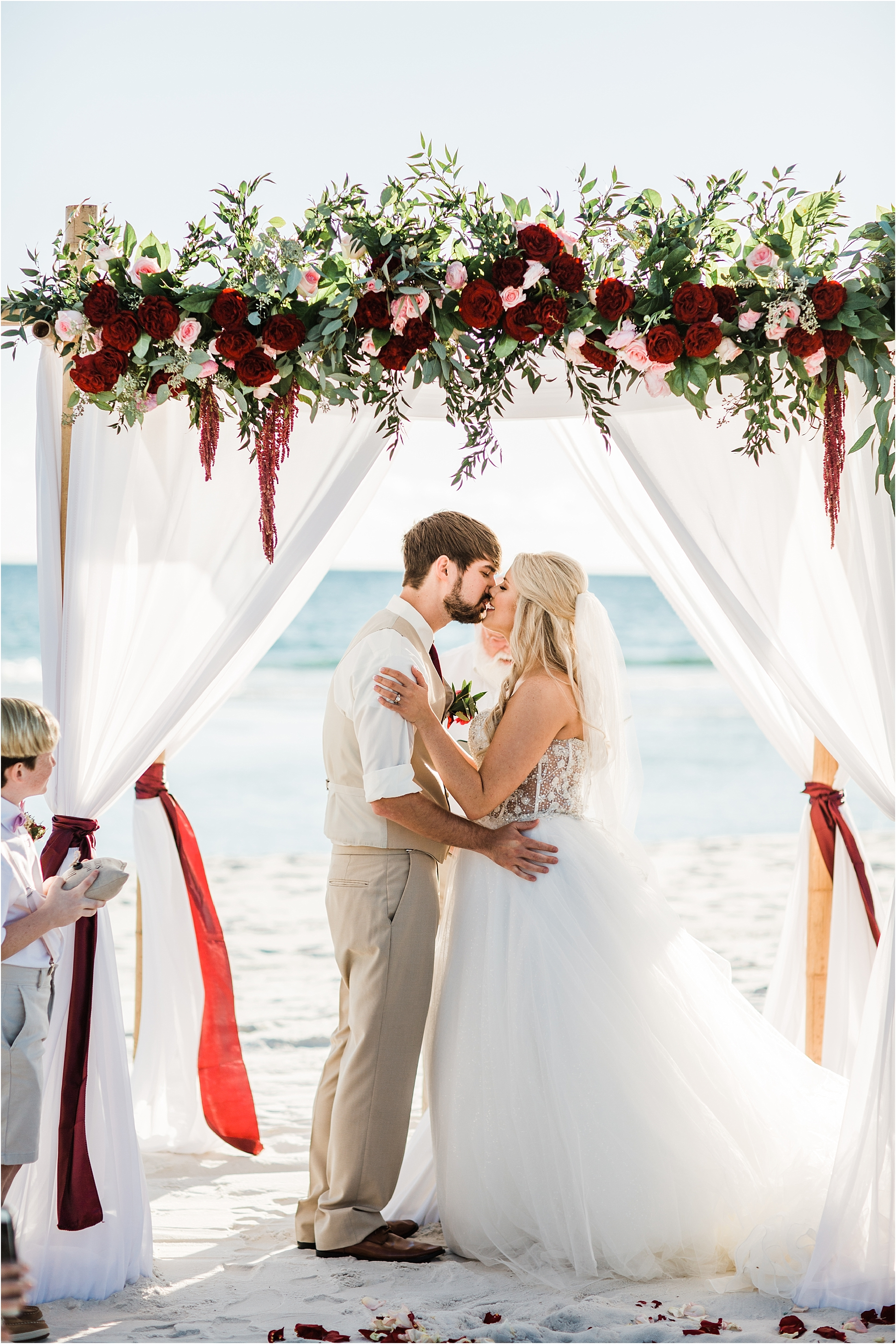 Share Your First Kiss On The Beach