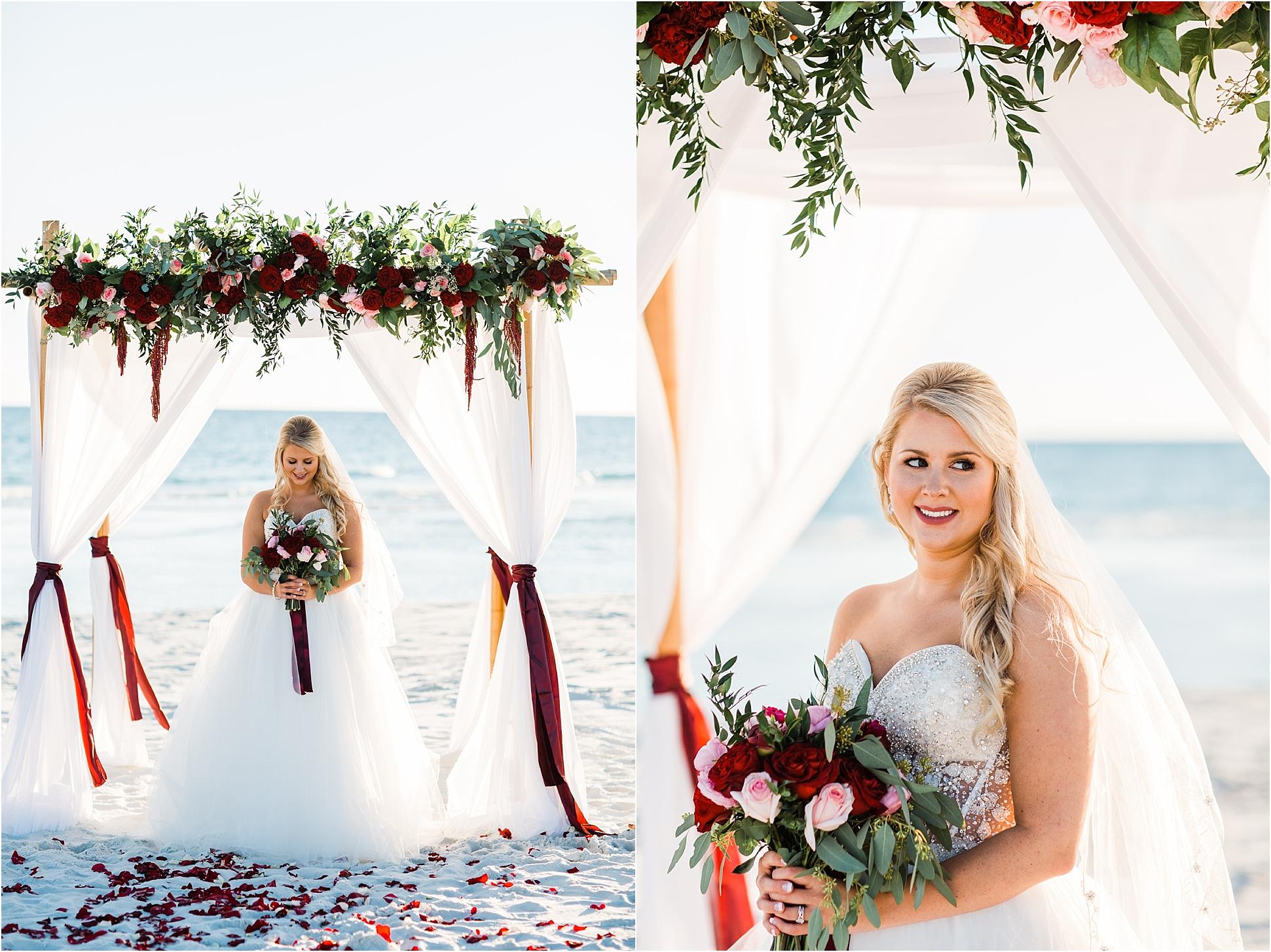 Beautiful Bride in Pensacola Beach