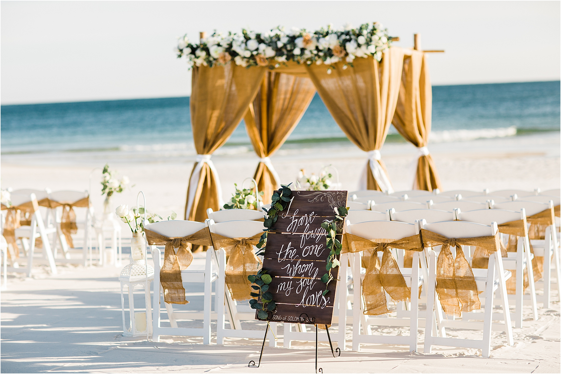 Wedding Arches for rent in Gulf Shores