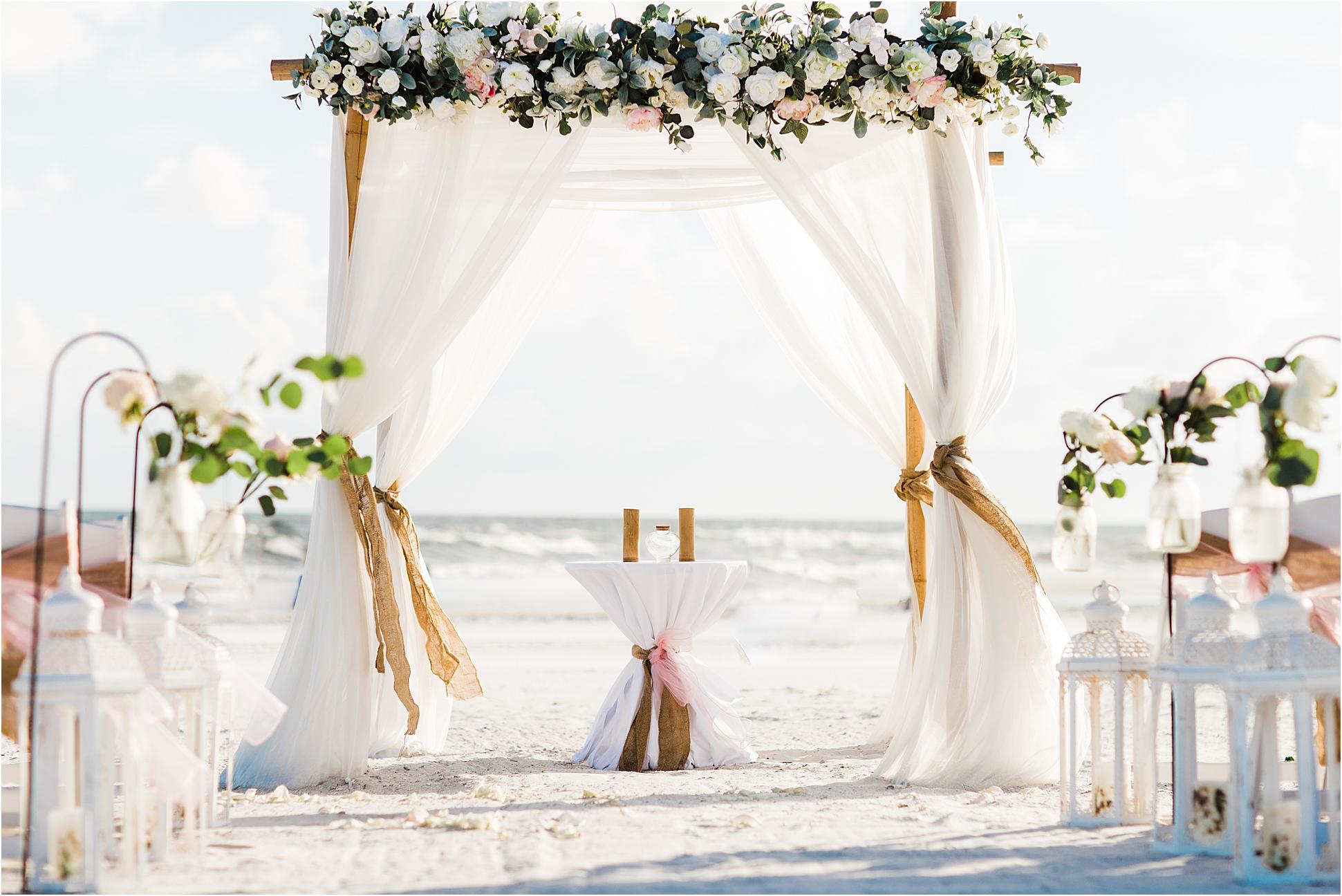 Wedding Arch Ideas for a beach wedding