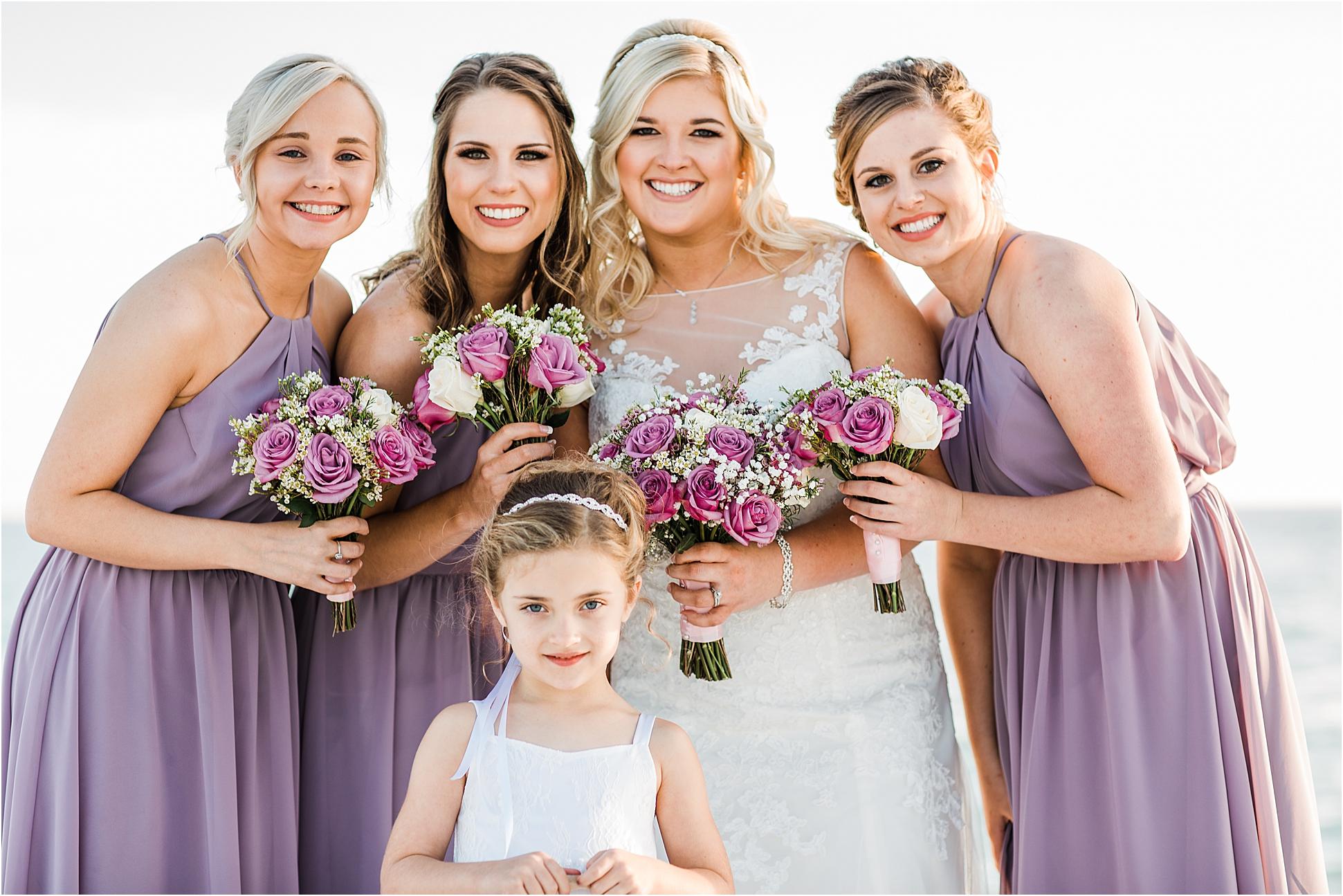 Purple Roses Bridal Bouquet