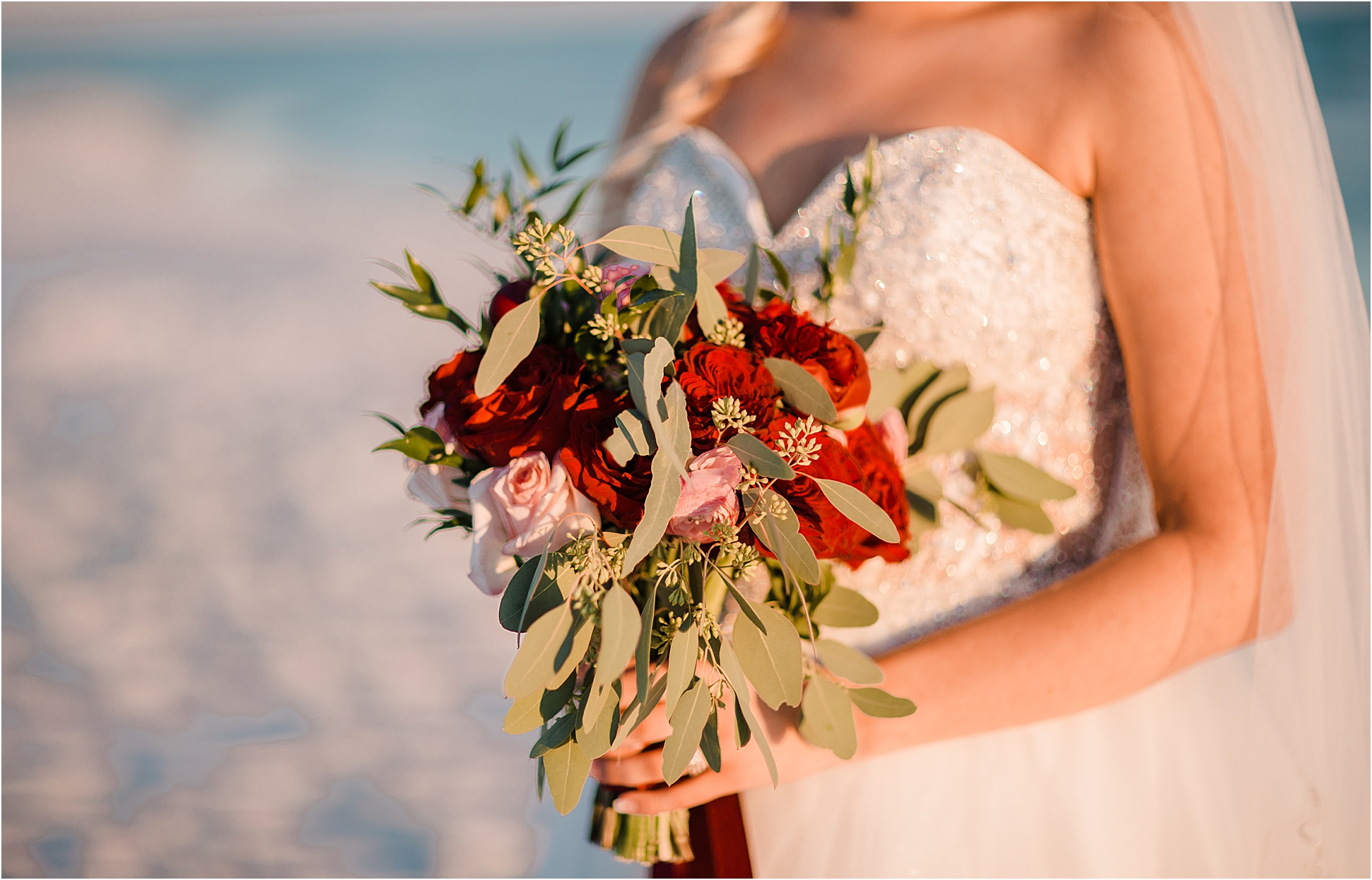 Beautiful Wedding Party Bouquets