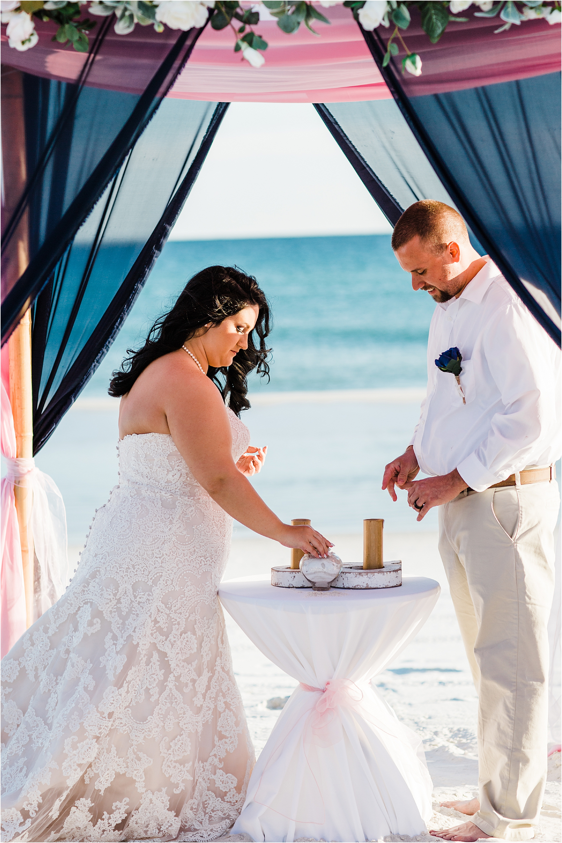 Sand Ceremony In Gulf Shores