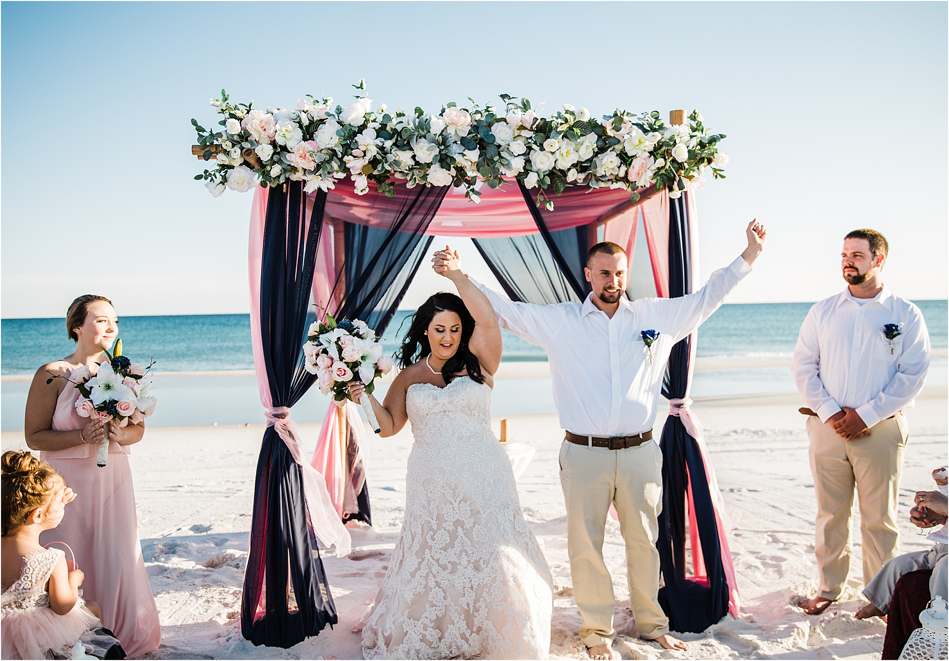 Paradise Beach Weddings in Gulf Shores