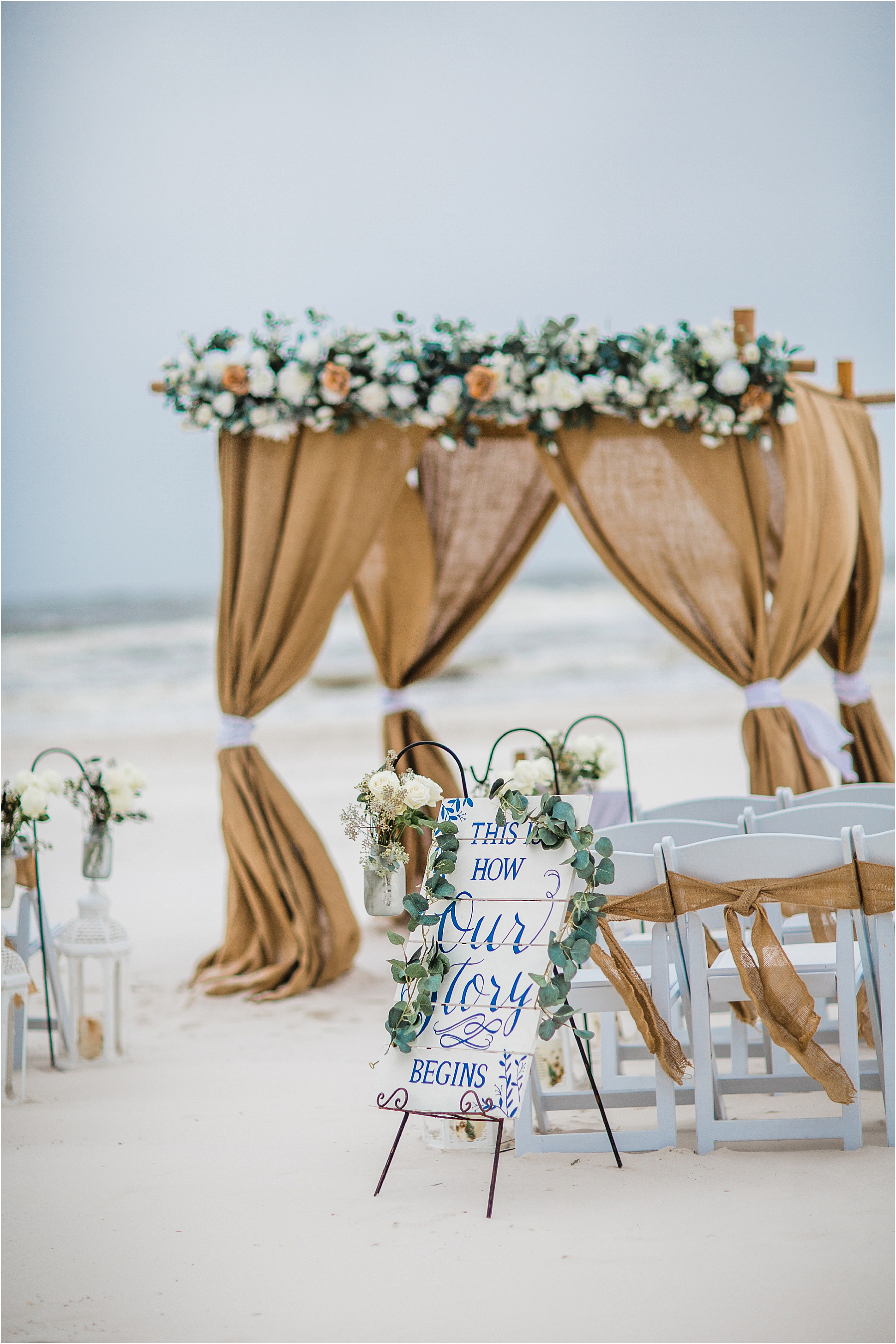Wedding signs for Gulf Shores Weddings