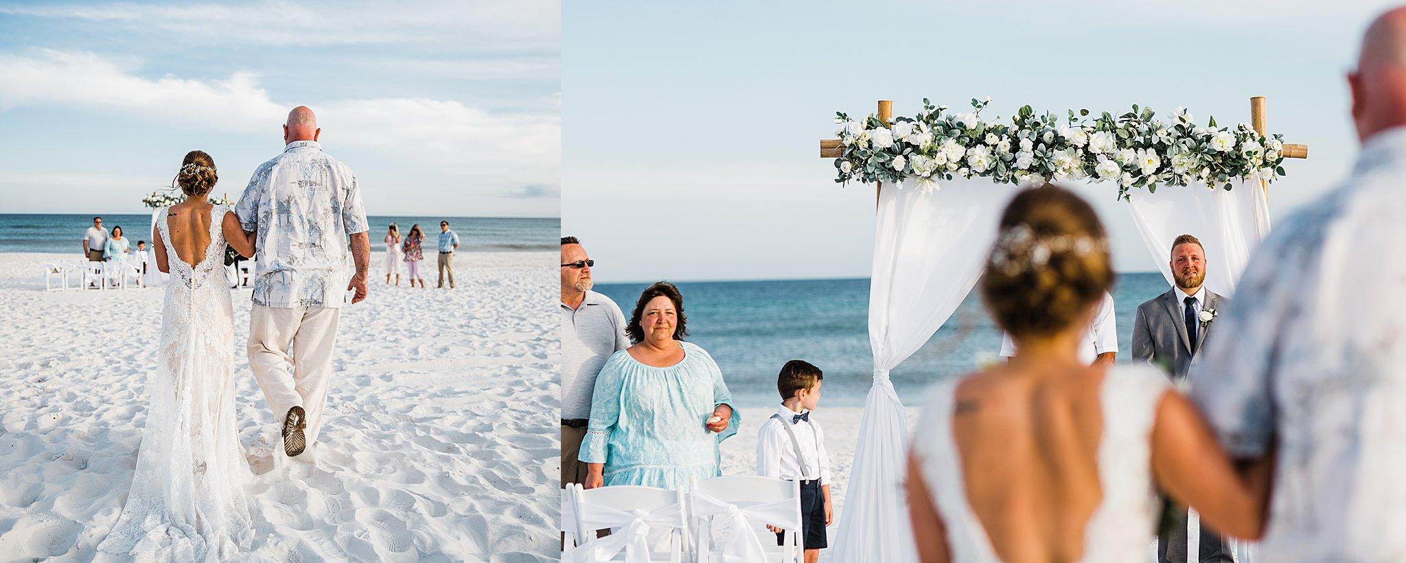 Pensacola Wedding at Sunset