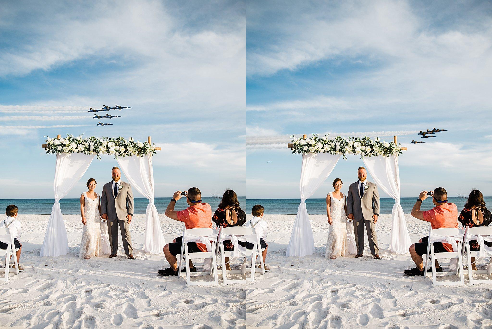 Blue Angel Wedding