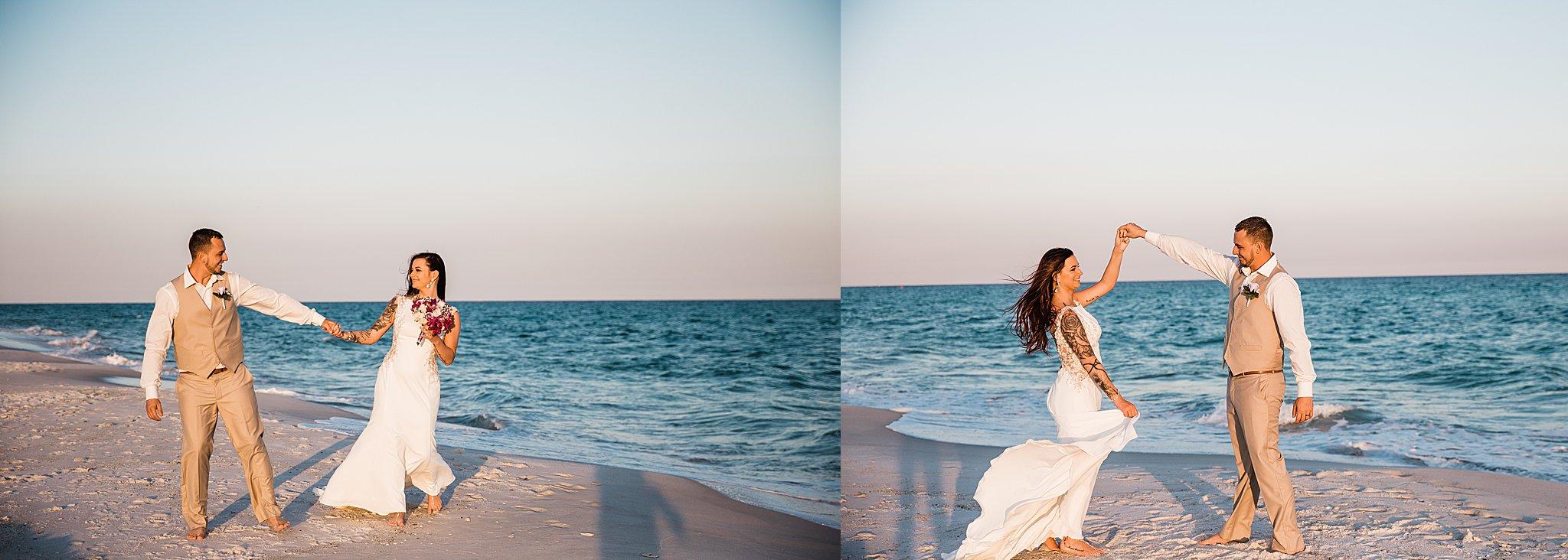 Happy Dances In Pensacola Beach