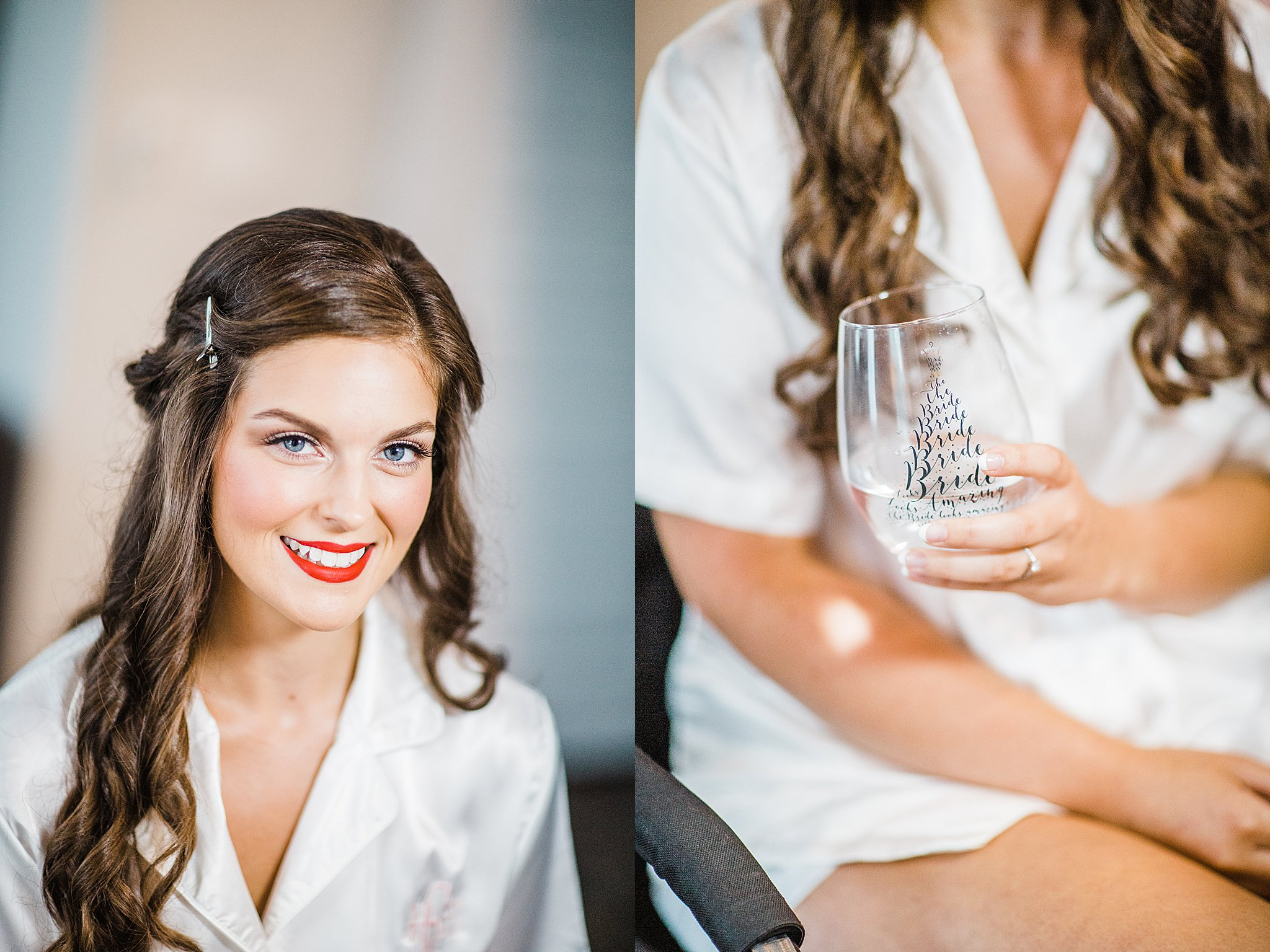Beautiful Bride Getting Ready for her Big Day