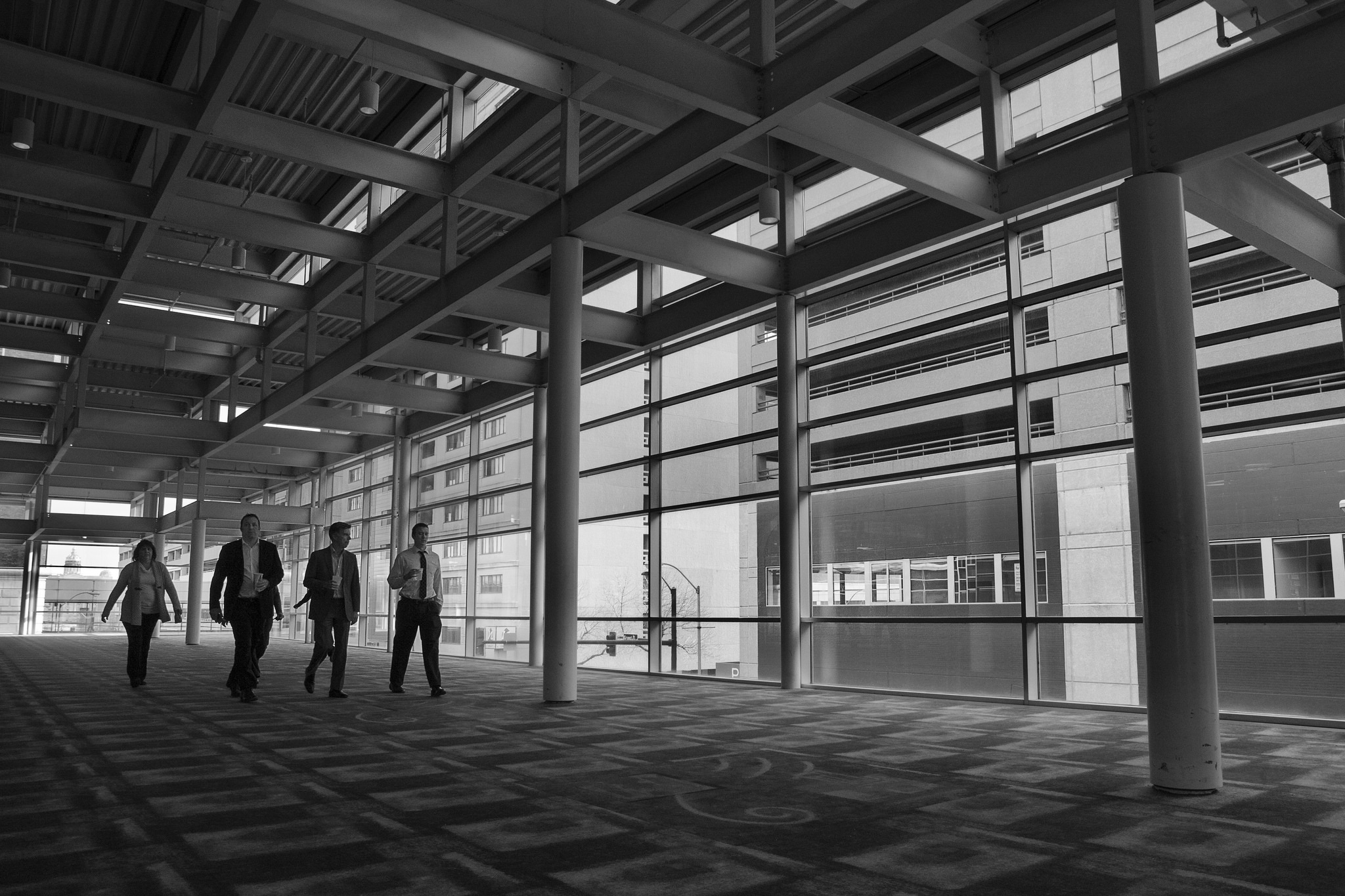Skywalk 3/10 - Lunch Walkers - © 2016 Michael F. Hiatt