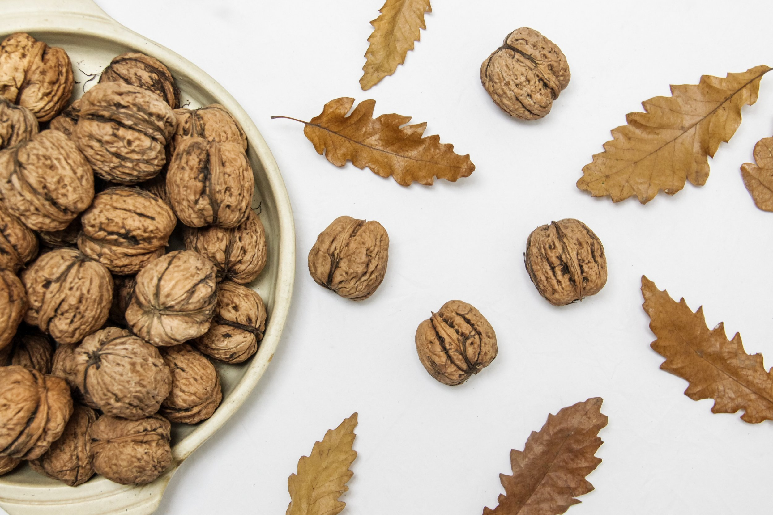 Walnuts - Ask me how I am doing, and the answer you will probably get is,