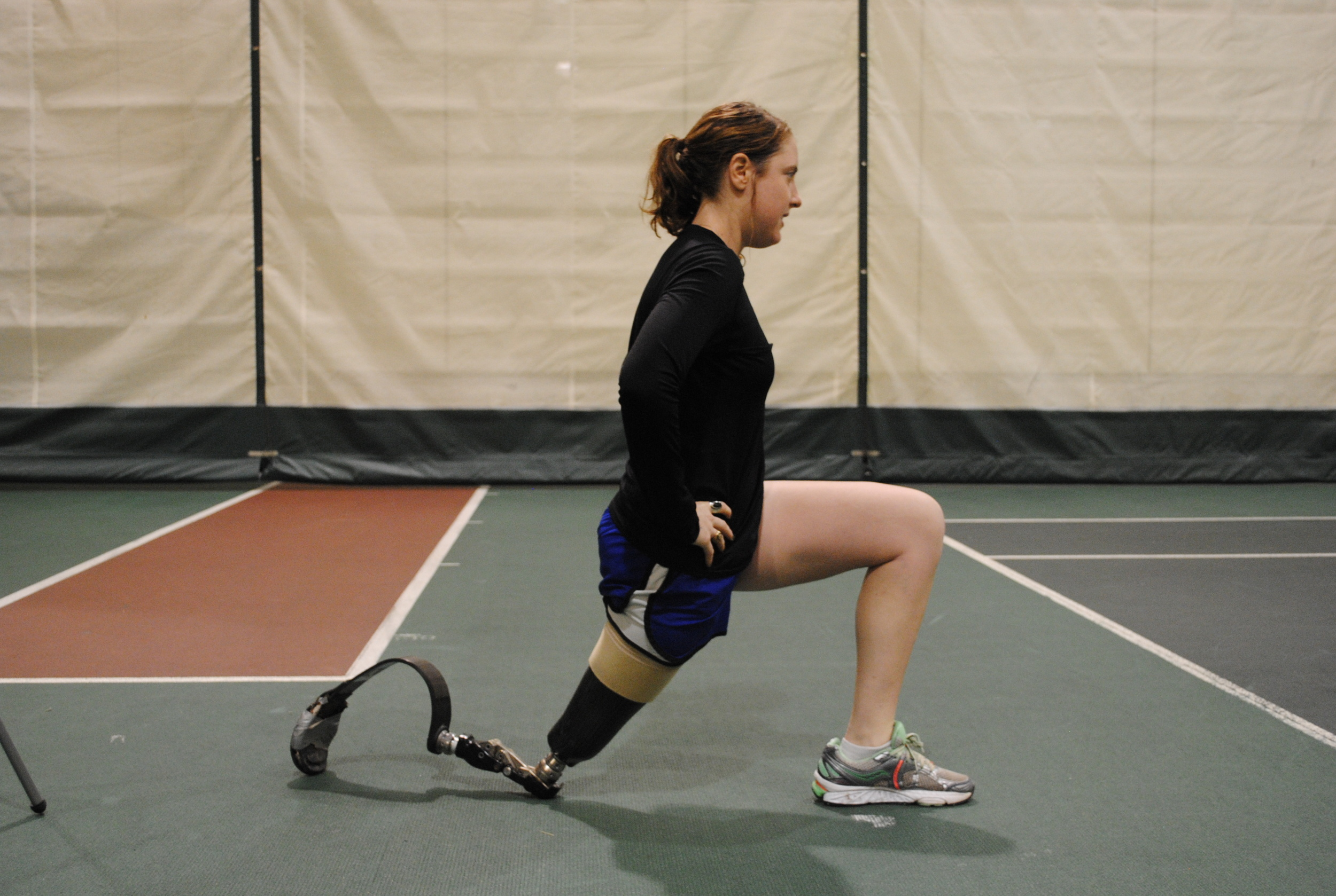 Stretching with your prosthesis