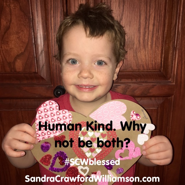 Human Kind. Be Both. #SCWBlessed