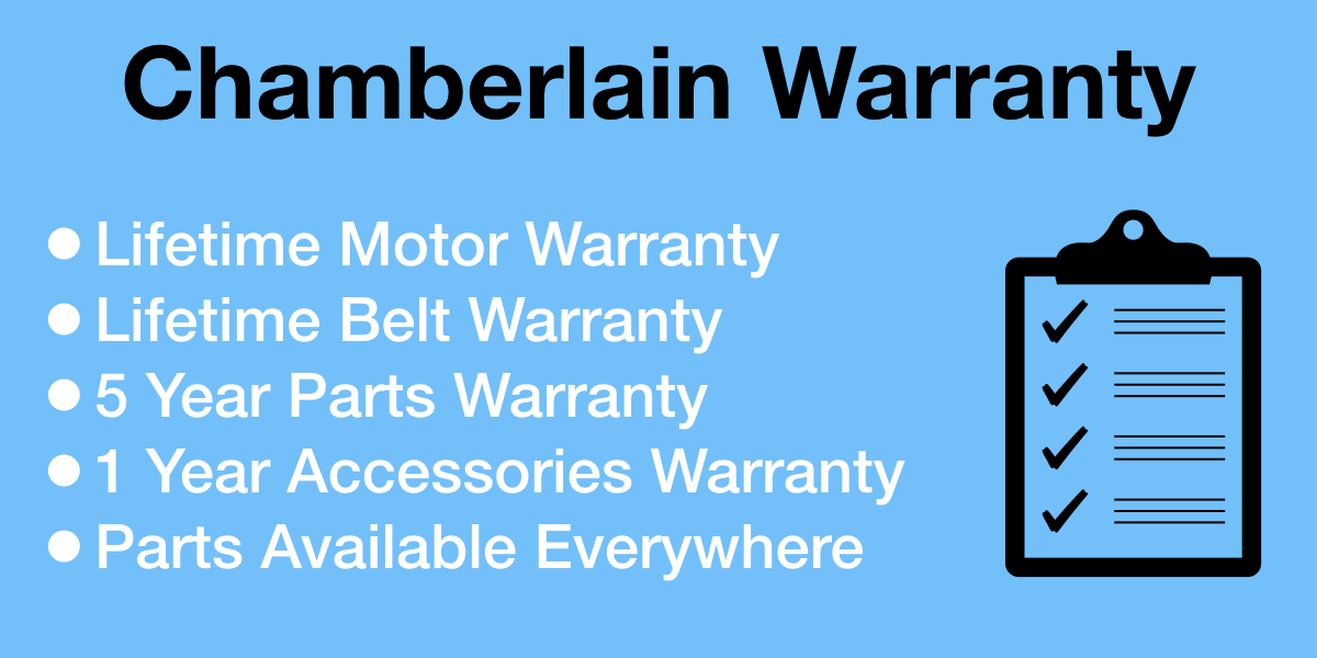 Chamberlain Garage Door Opener Warranty