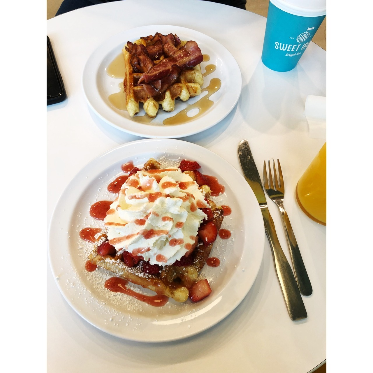 Hungry?!? Us too!  Eat up this Waffle Wednesday!