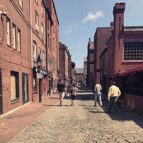 What a perfect day for a Saturday-Stroll in this Portland, ME shot from Matt + Mary!  How are you spending your adventurous weekend?