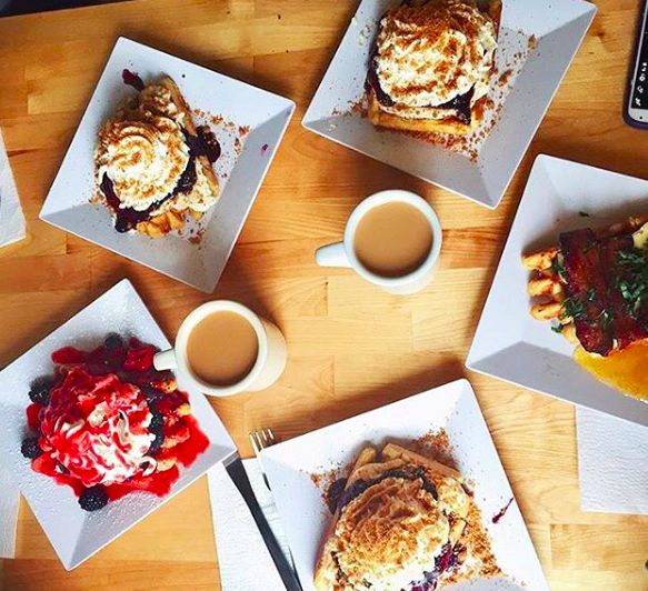 The Waffle Window - Portland, OR