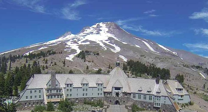 The Shining - Timberline Lodge, Mt. Hood, Oregon