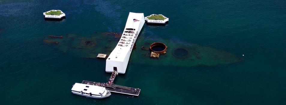 USS Arizona Memorial - Honolulu, Hawaii