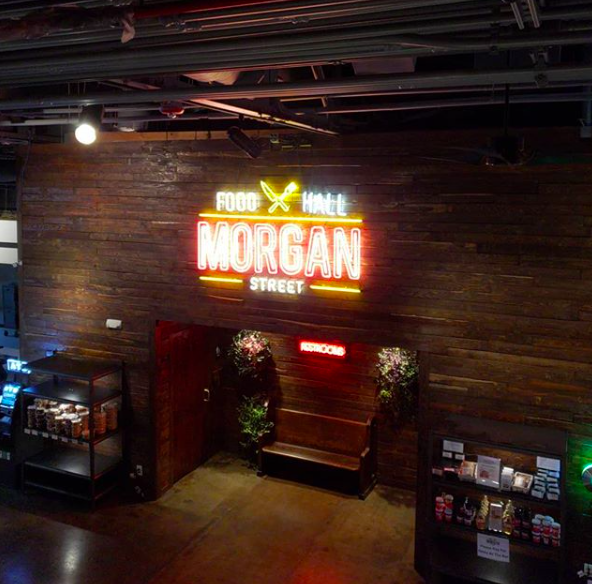 Morgan Street Food Hall - Raleigh, North Carolina