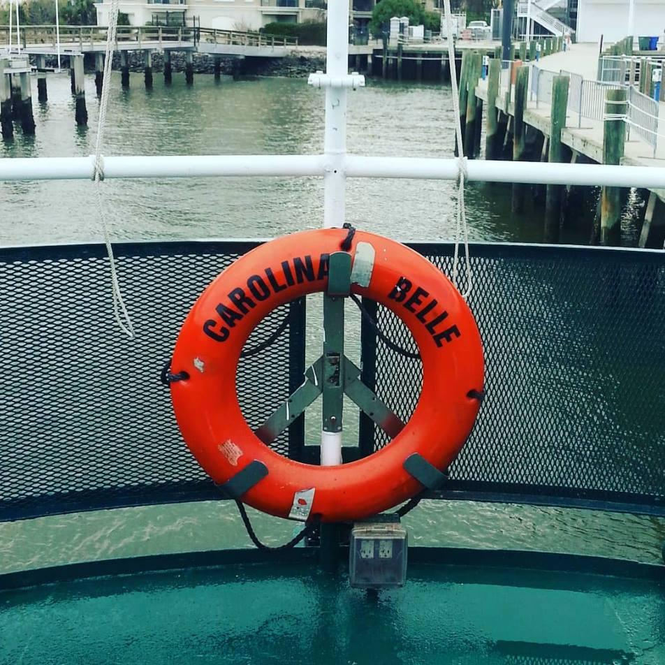 Image Courtesy of  Charleston Harbor Tours + Events