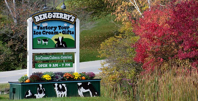 Burlington, VT - Ben + Jerry's Factory Tour