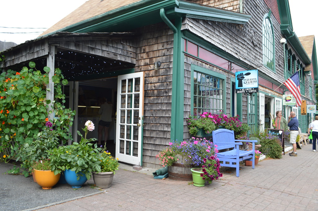 Bar Harbor, ME - Mount Desert Island Ice Cream