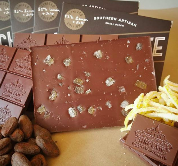 Image courtesy of  Olive + Sinclair Chocolate Co.