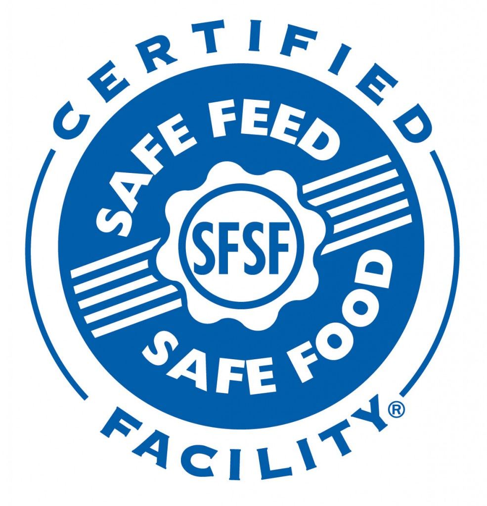 Simmons Feed Mills Achieve Distinguished Safe Feed/Safe Food Certification