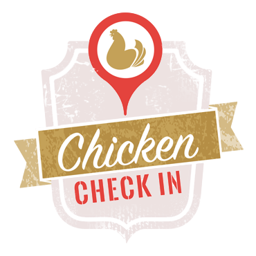 Chicken Check In Logo