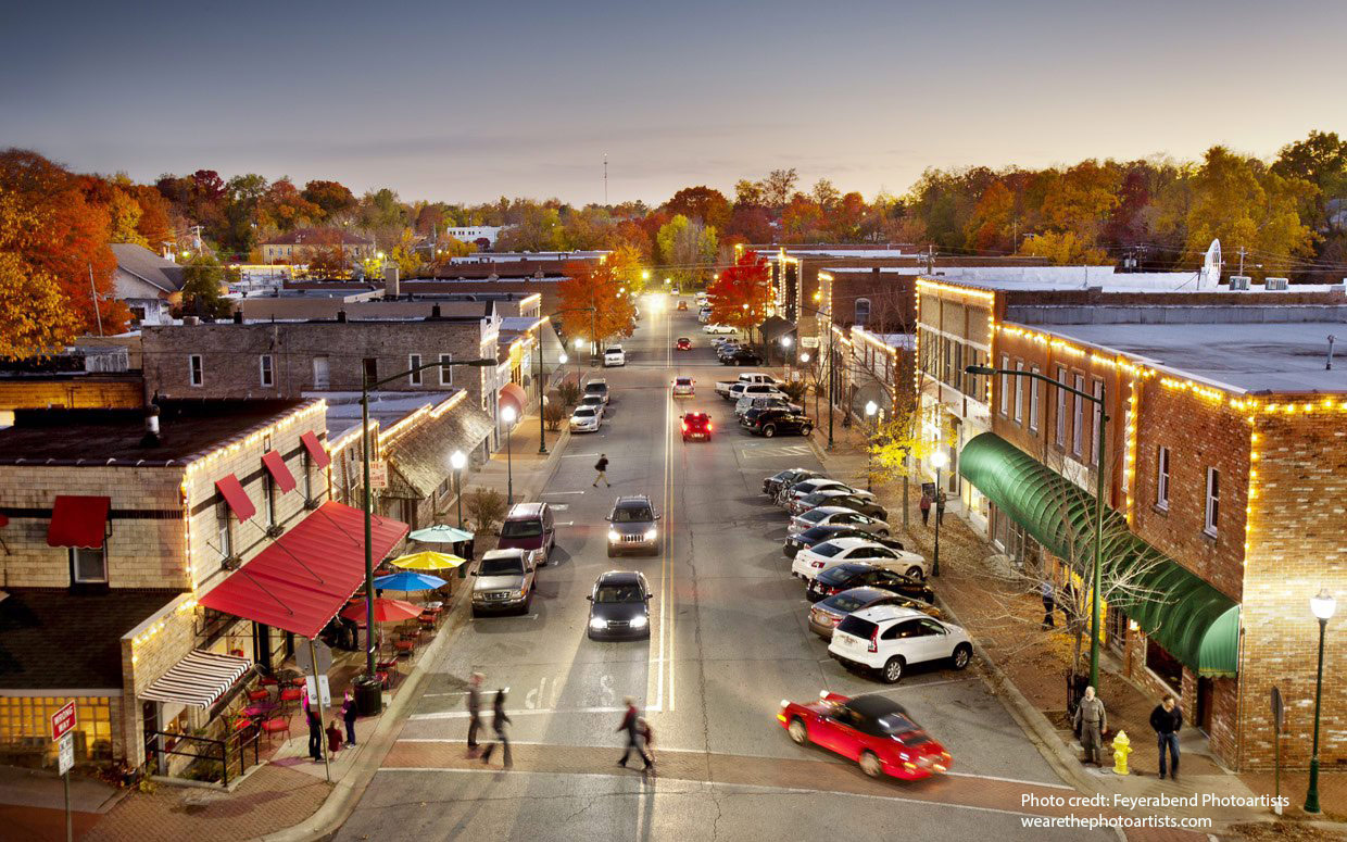 Siloam Springs, Arkansas downtown