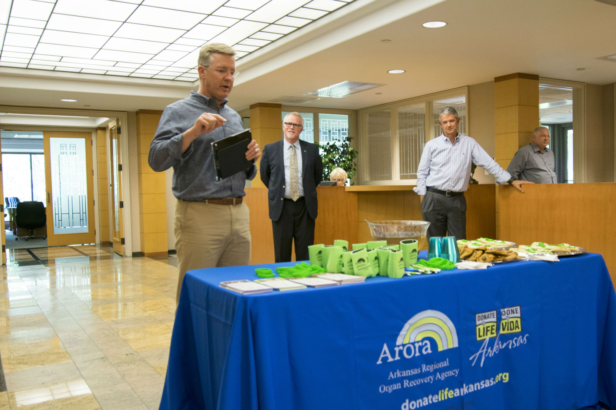 Todd Simmons, CEO of Simmons Foods discusses ARORA Workplace Partnership