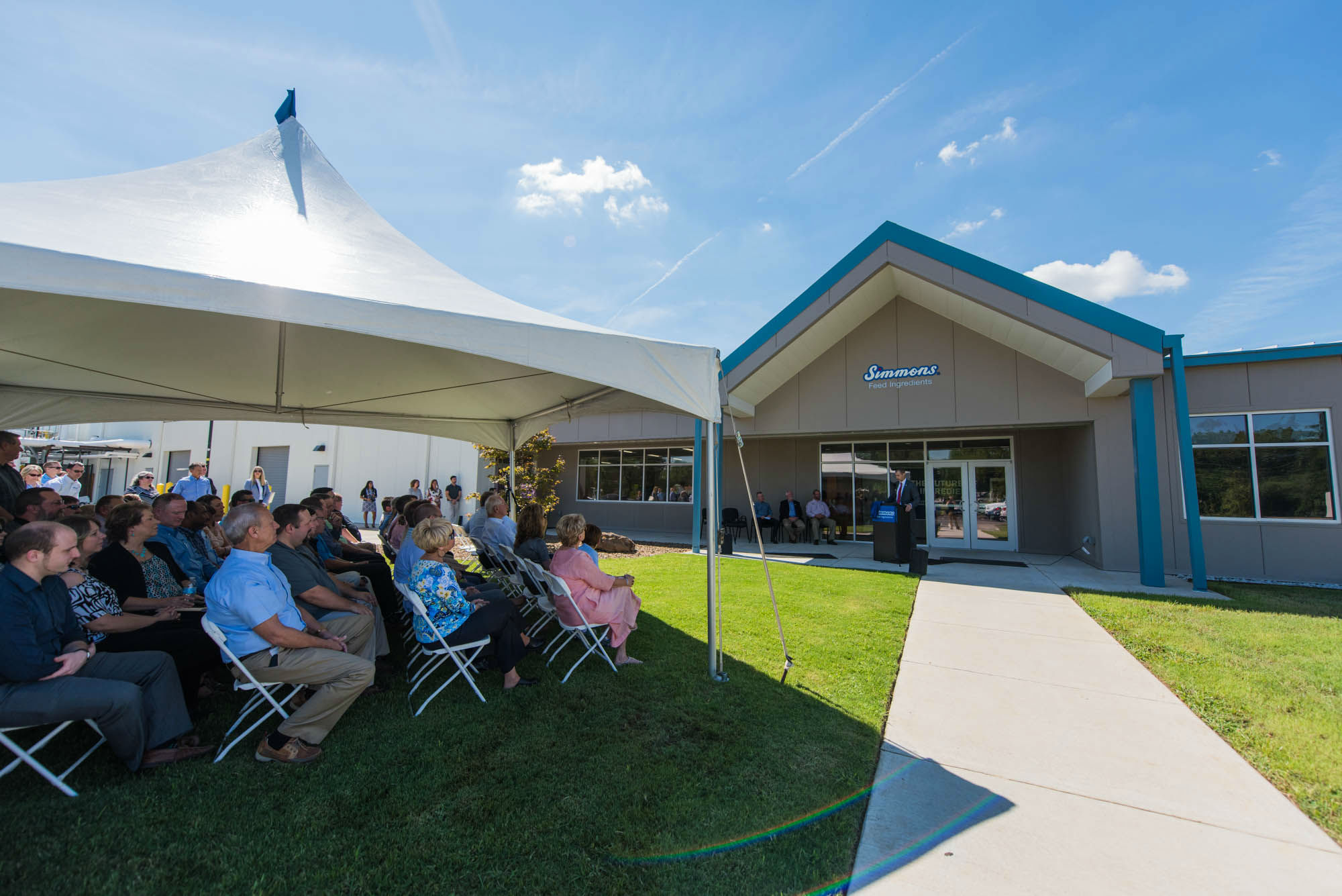 Simmons Feed Ingredients Holds Ribbon Cutting Ceremony
