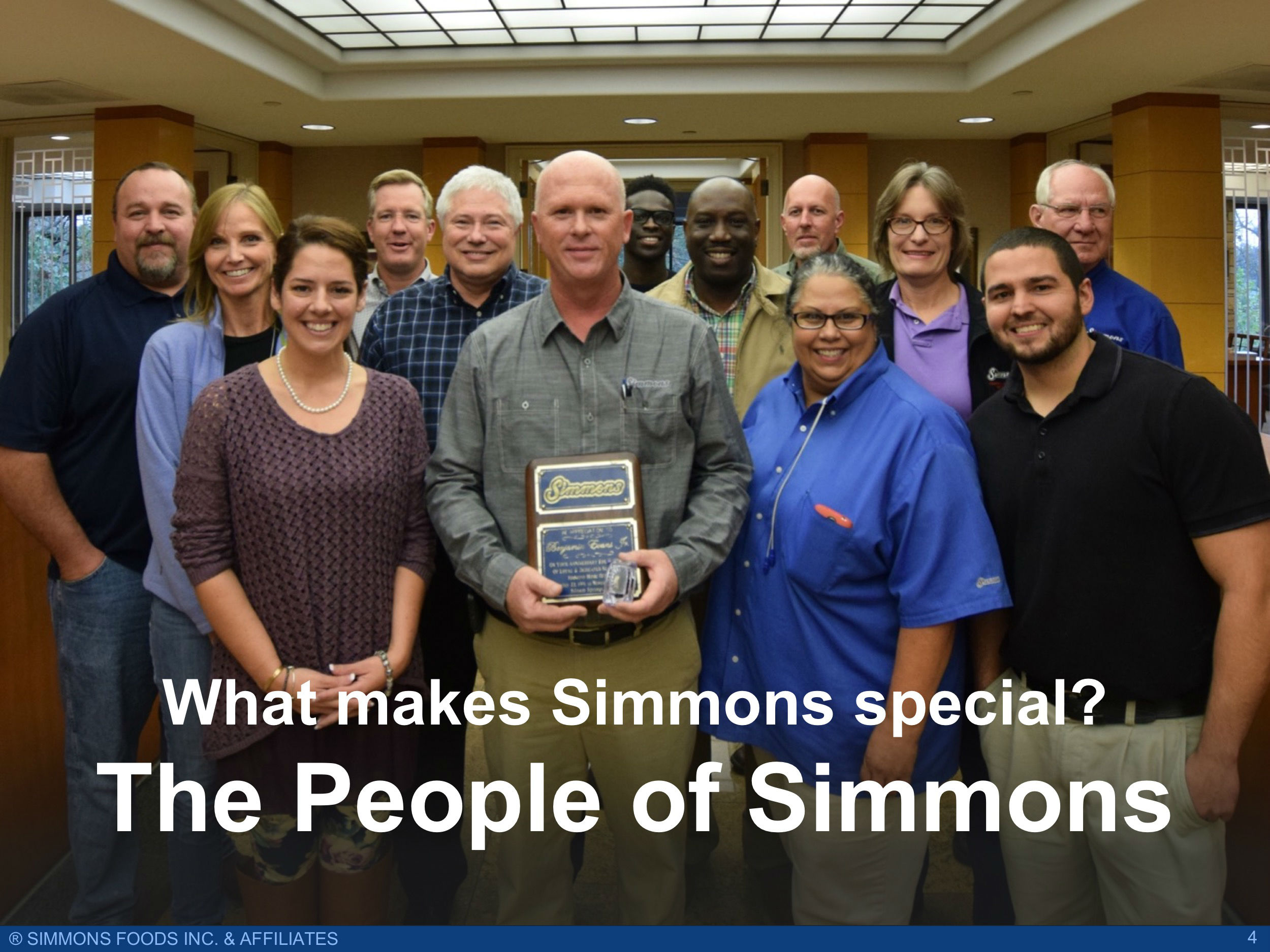 Introduction — Simmons Foods