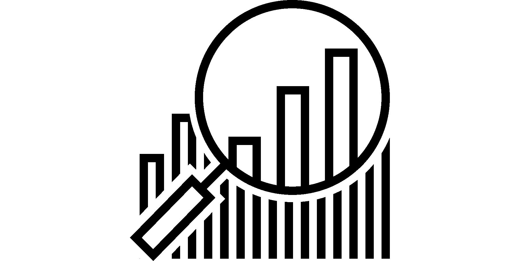Search Bar Graph Icon