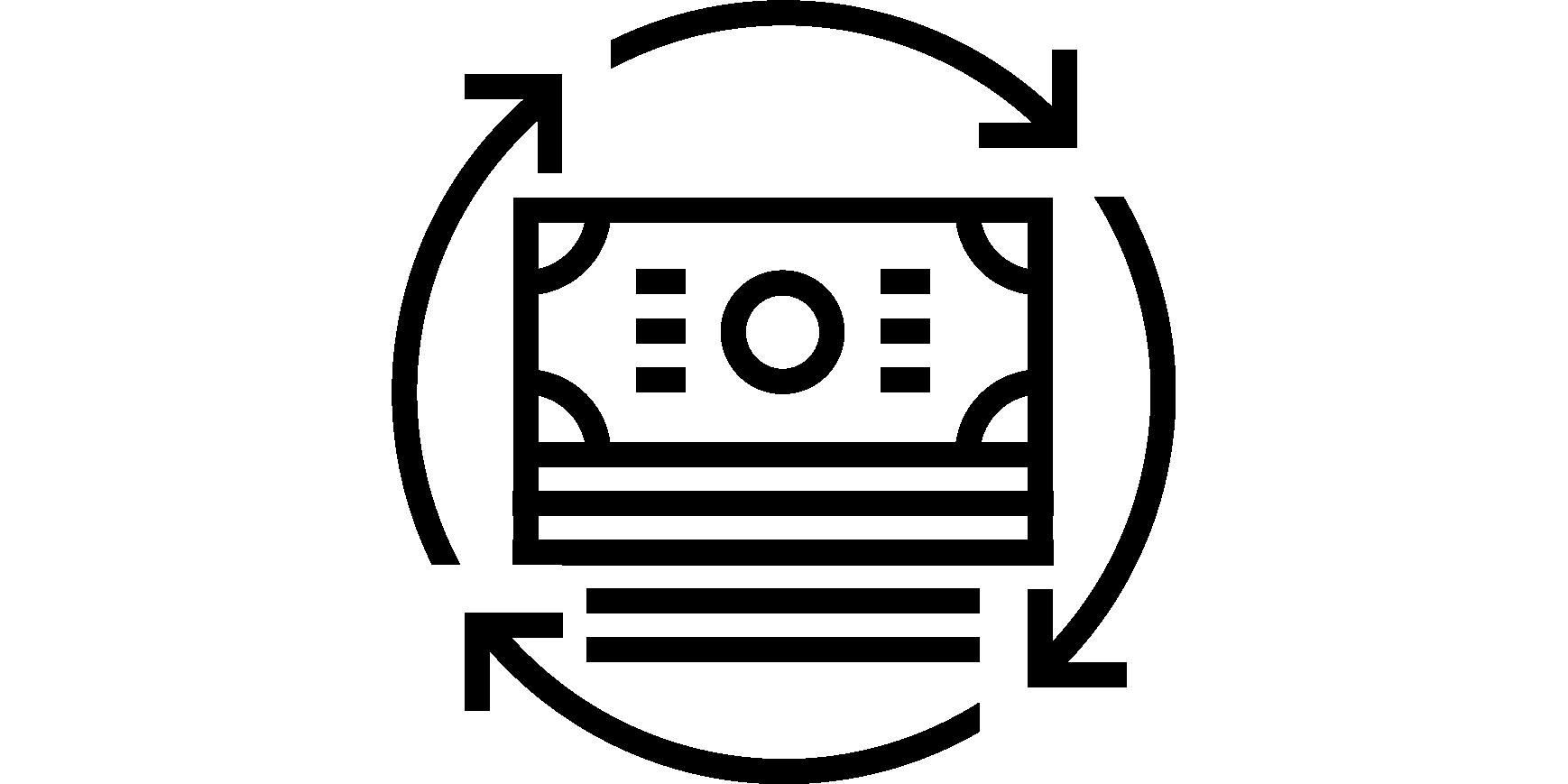 Cash Circle Icon