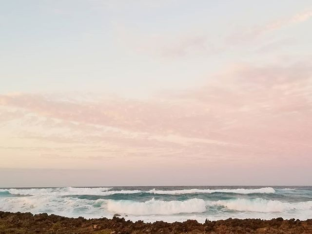 Pastel horizon #northshoreoahu