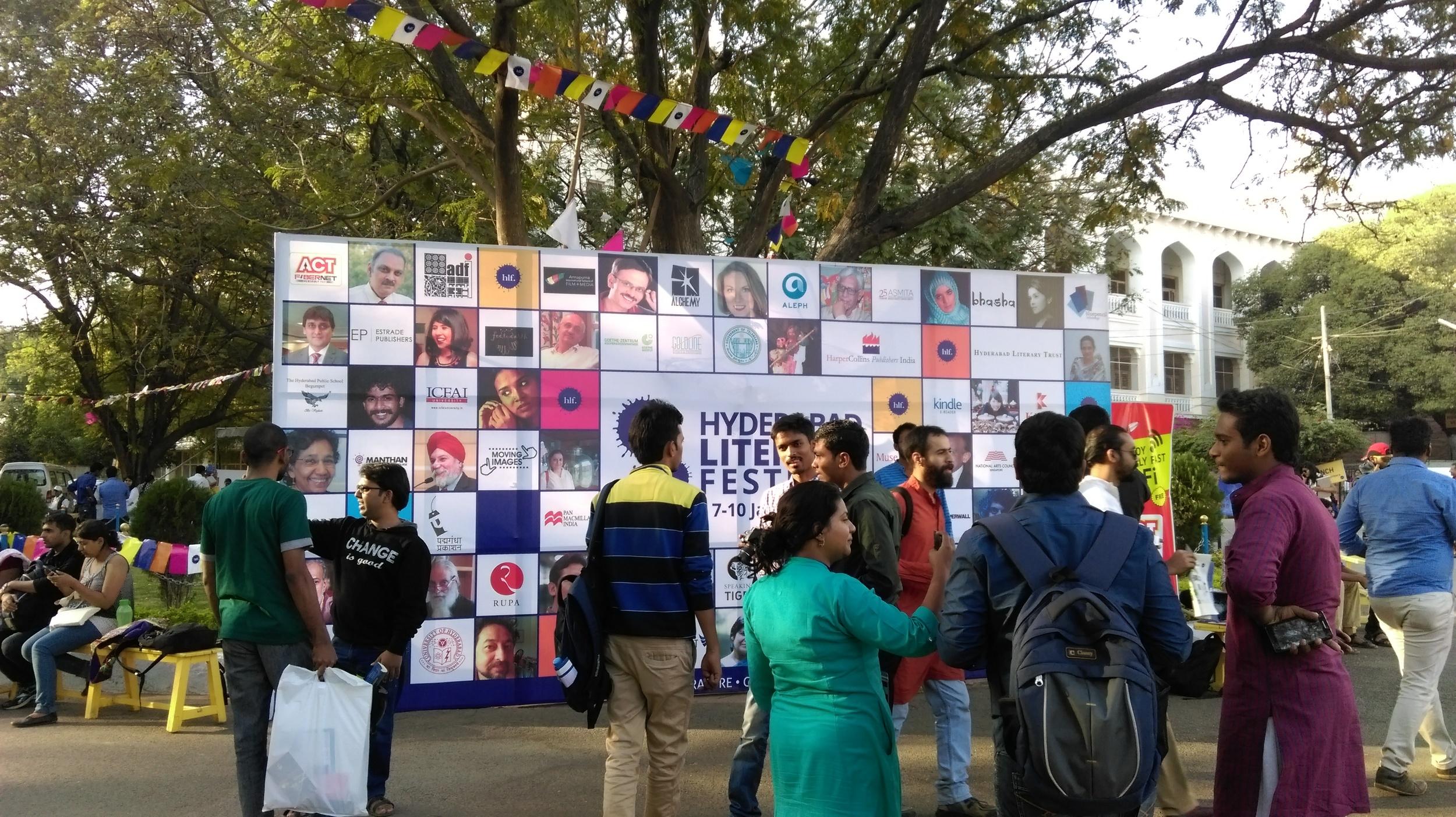 Hyderabad Literary Festival 2016