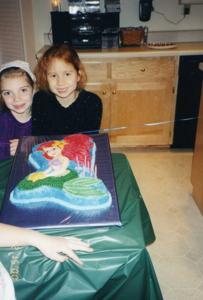 Little Mermaid cake, 2000