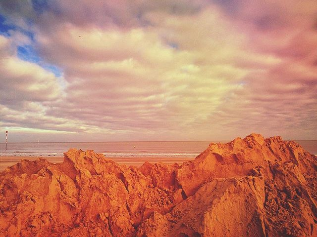 The Sandmountains Of Margate in all their raw, inimitable beauty.