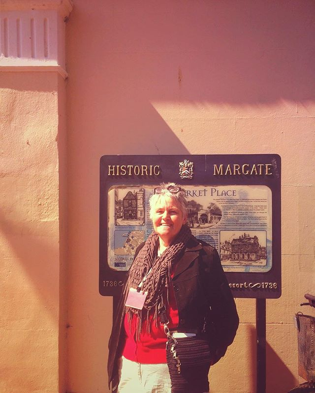 Big shouts to Lynn who does Margate History Walks - we trundled through town with a crew about 25 deep and it was awesome. I've been meaning to dig deeper into the history of here and it wasn't enough time to even tap on the surface, but goddamn this town's been through some mad times...It's well worth reading up on... All kinds of old timey oddities... Check em out on FB sometime if you're in the area!