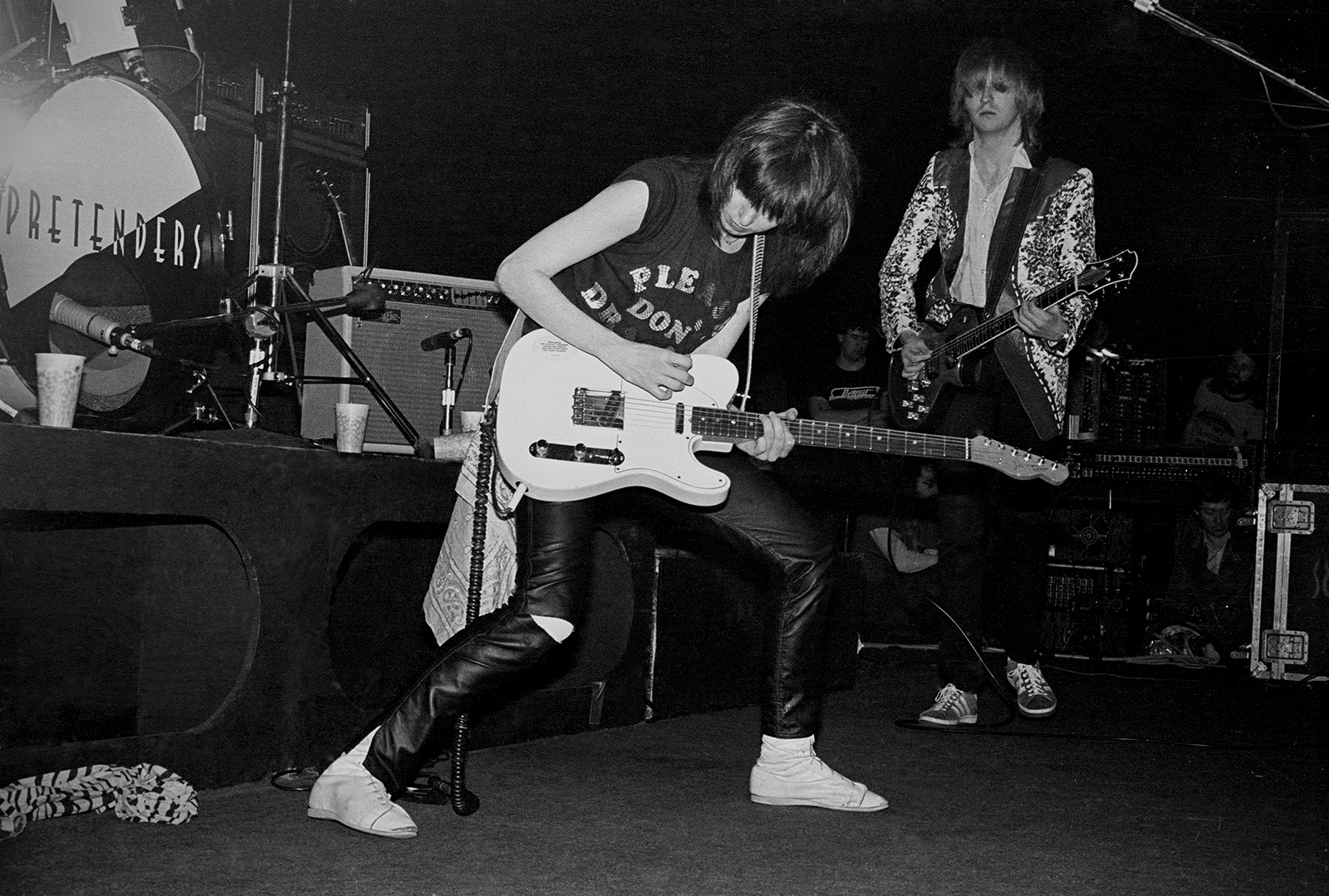 Crissy Hynde of the The Pretenders