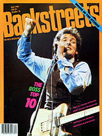 A similar image was featured on the cover of Backstreets Magazine from back in Fall of 1986.