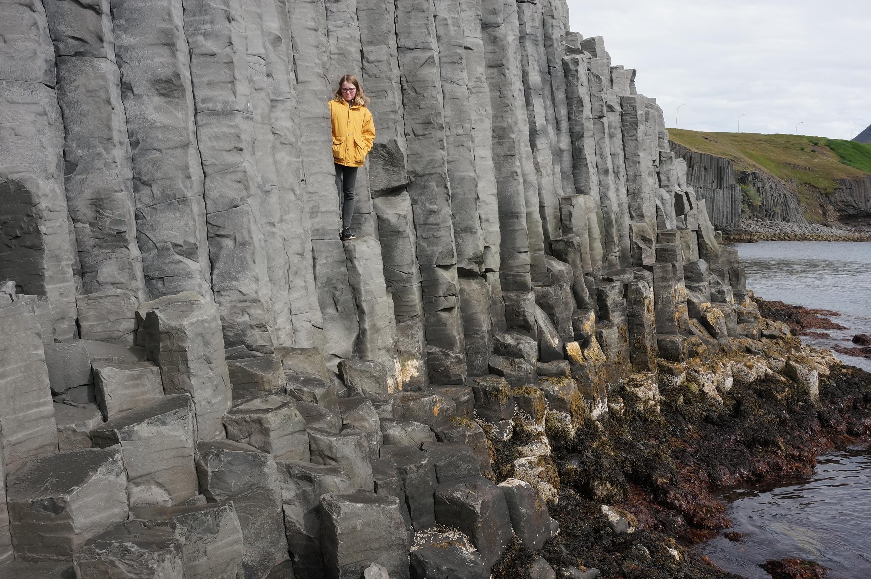 Basalt columns Hofsos